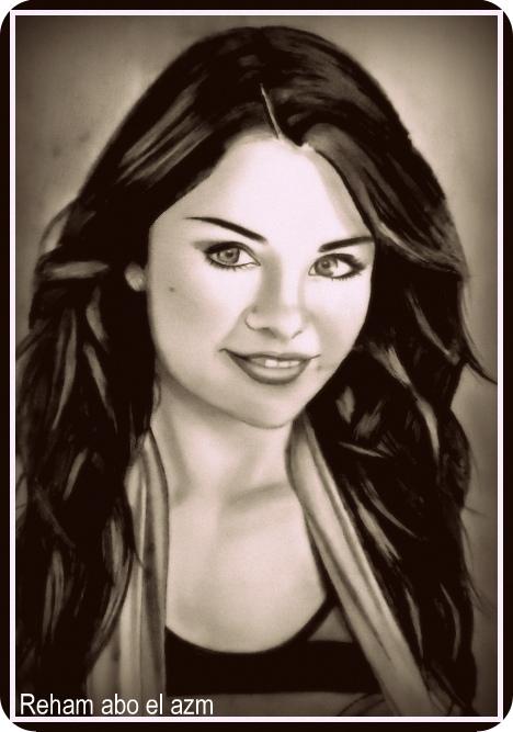 Selena Gomez by rehammm